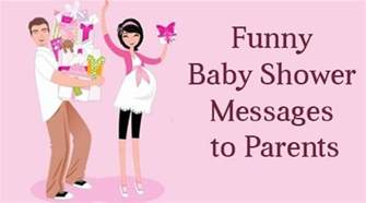 baby shower messages to parents