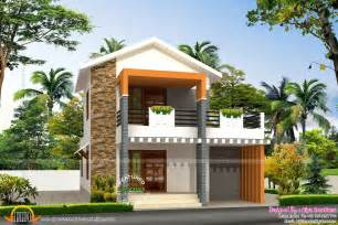 Small double storied house in 1200 sq feet kerala home design and