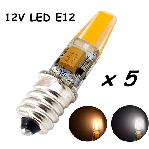 Led Mini Light Bulbs 12v E12 Led Light Bulb 2 Watt 200lm Omnidirectional Candelabra Bulb E12 Base Bulb L Mini