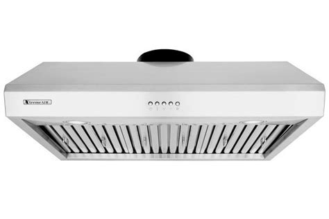xtremeair 30 inch cabinet stainless steel range