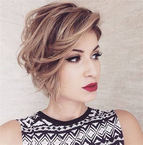 Short Hairstyles New Short Messy - messy bob haircut for hear face shape short hairstyles