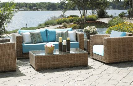 Outdoor Resin Wicker Patio Furniture by Luxury For Your Home And Garden Chagne Living