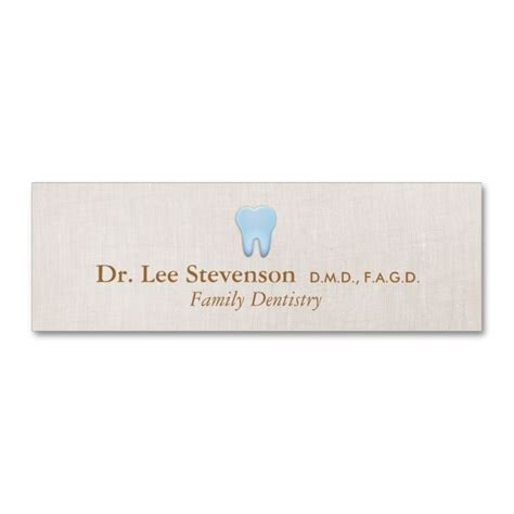 add a card template to magiccardeditor dentist appointment card business card make your own
