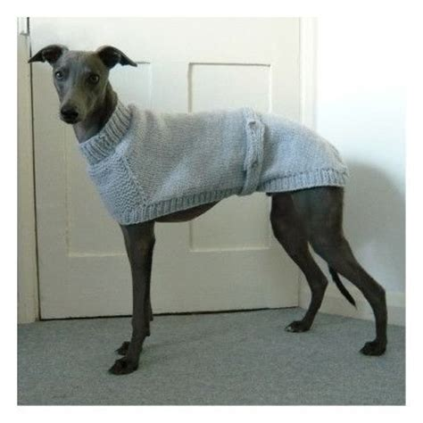 knitting for greyhounds knitted hound sweater iheartwhippets a responsive