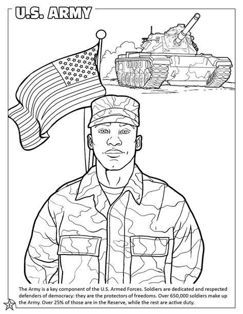 army coloring pages coloring books united states armed forces