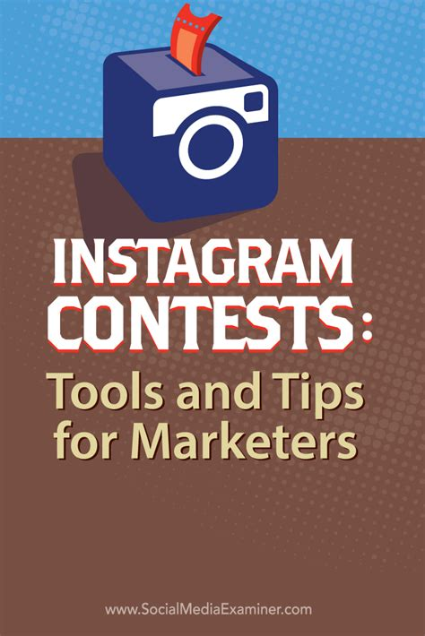 Instagram Giveaway Tips - instagram contests tools and tips for marketers social media examiner