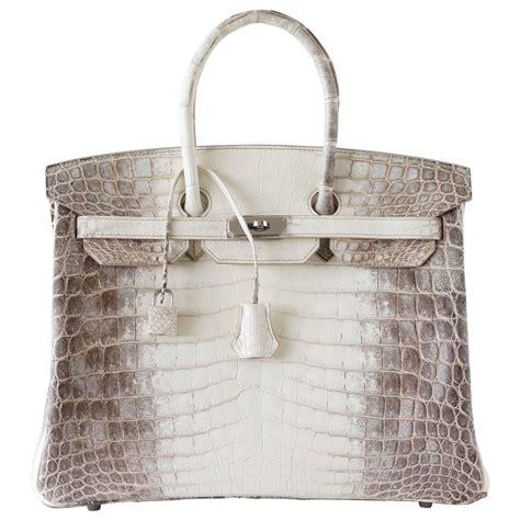 Tas Hrms Birkin Himalaya hermes birkin 35 bag blanc himalaya exquisite skin limited