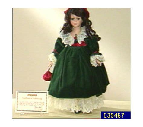 porcelain doll 18 southern 18 quot porcelain doll by seymour mann qvc