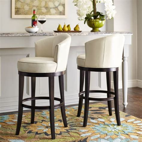 kitchen island stools with backs barstool cool comes circle with its dizzying 360