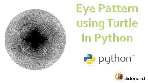 hd eye pattern 13 turtle graphics drawing eye pattern youtube