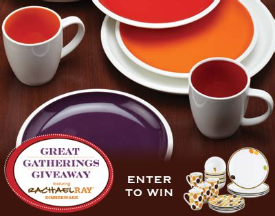 Rachael Ray Giveaways 2013 - rachael ray dinnerware great gatherings giveaway thrifty momma ramblings