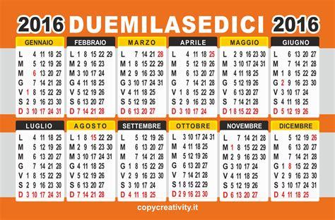 Calendario Es 2016 Calendario 2016 Colore