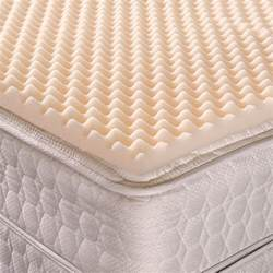 convoluted egg crate foam mattress pad traditional fit
