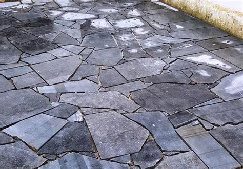 Ardoise Naturelle Pour Sol 2843 by Rev 234 Tement Pavage Granit Schiste Terrasse All 233 E