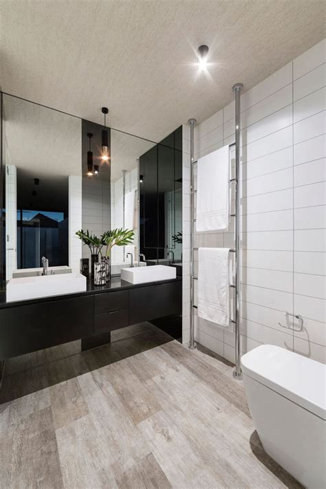 bathroom tv ideas bathroom mirror ideas fill the whole wall contemporist