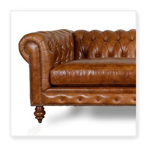 cococo custom chesterfield leather tufted sofas made in usa