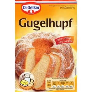 kuchen backen dr oetker dr oetker gugelhupf german deli