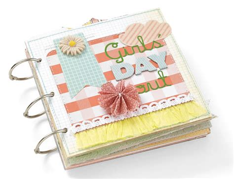 Day Out The Scrap Shoppe - day out mini album scrapbooking holidays