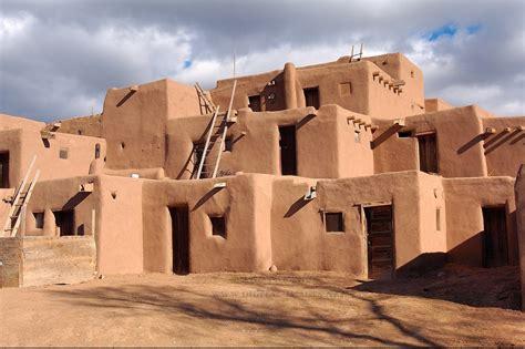 Pueblo Adobe Homes by Image Gallery Pueblo Indians