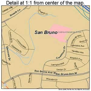 san bruno california map san bruno california map 0665028