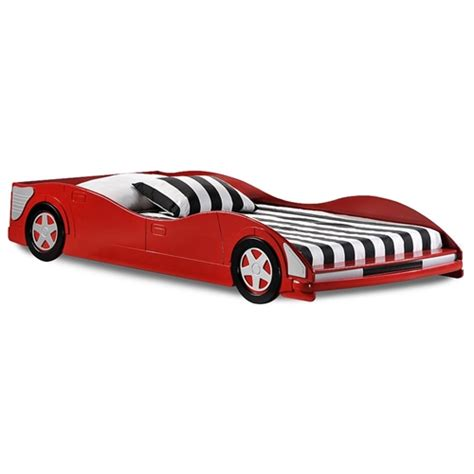 red race car bed dresden twin size race car bed low profile red dcg stores