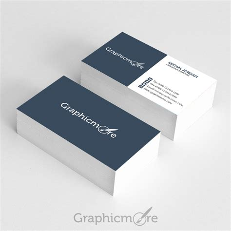 business cards psd templates free graphicmore business card template free psd file