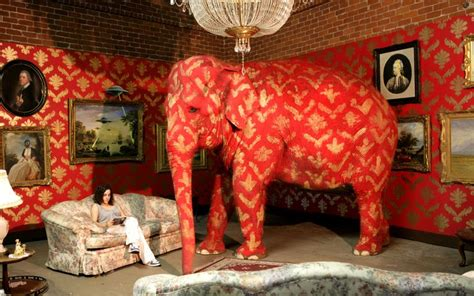 What Does The Elephant In The Room by Banksy Elephant In The Room For Wisdom