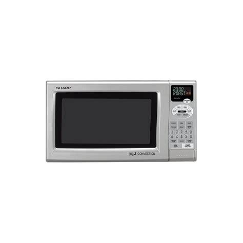 Microwave Grill Sharp sharp r820js 0 9 cu ft 900w grill 2 convection microwave silver