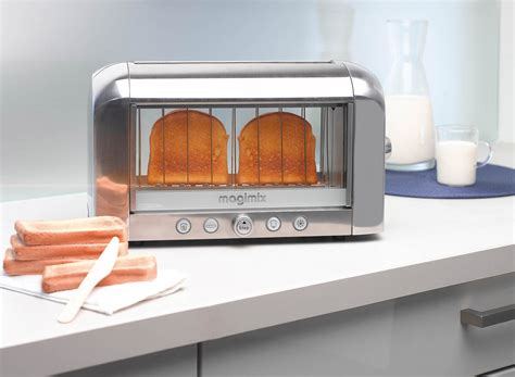 See Theough Toaster magimix vision toaster world s see through toaster