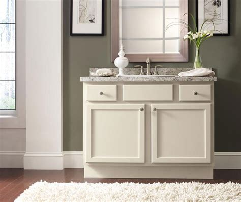Shaker Style Bathroom Vanity Homecrest Cabinetry Shaker Style Bathroom Furniture