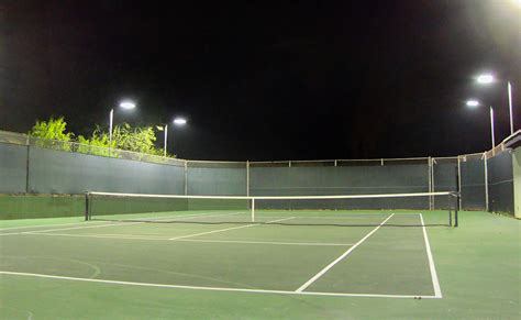 tennis courts with lights outdoor tennis court lighting lighting ideas