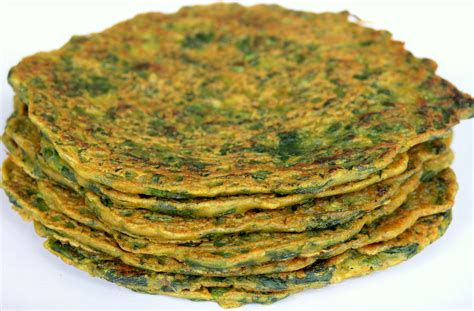desi spinach pancakes cook2jhoom
