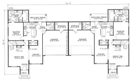 multi unit house plan 153 1595 6 bedrm 1683 sq ft per