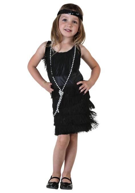toddler black flapper dress halloween costumes