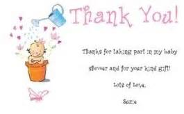 Small caring poems http www thank you note examples com baby