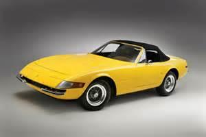 1972 365 gtb 4 daytona spyder sports car