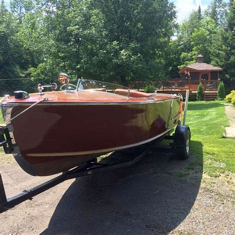 century wooden boats classic century boat for sale port carling boats