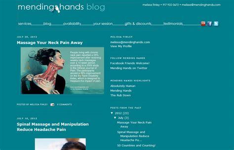blogger exles exle of a massage blog eric brown bodyworkbiz blog