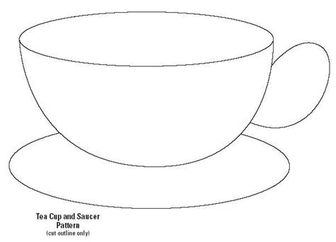 teacup template for card 17 best images about cup templates on coffee