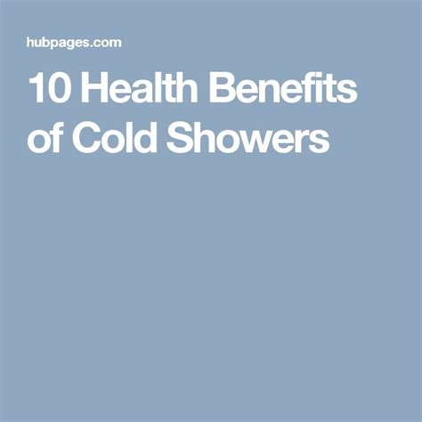 Health Benefits Of Cold Showers by 25 Best Ideas About Cold Shower On Everyday