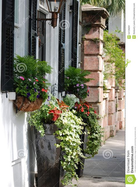 Planter Box In Front Of House by Charming Front Of House With Overflowing Planter Boxes In