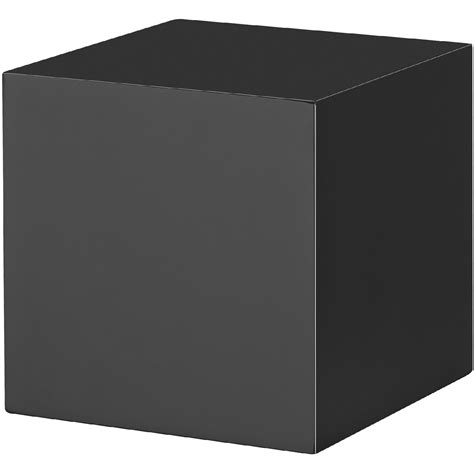 block shelf black block floating shelf 150x150x150mm mastershelf