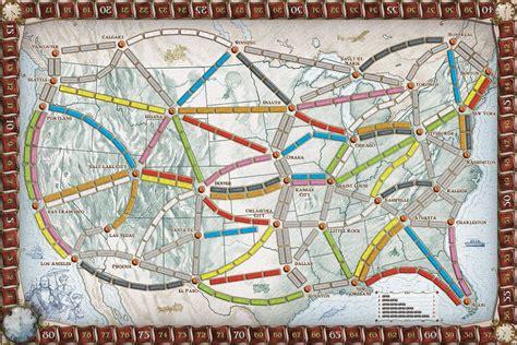 Ticket To Ride Germany Original Board strategispel ticket to ride