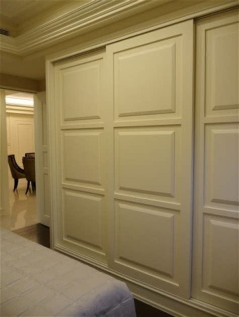 How To Update Sliding Closet Doors Great Way To Update The Look In A Bedroom Trade Out The Mirrored Doors For These Adds