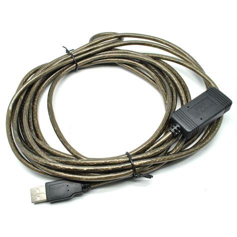 kabel ekstensi usb ke 5 meter black jakartanotebook