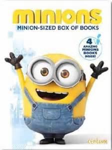 minions minion sized box books