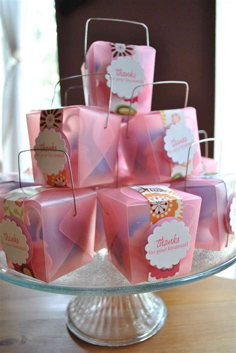Handmade Baby Shower Favors - clearlytangled handmade baby shower favors