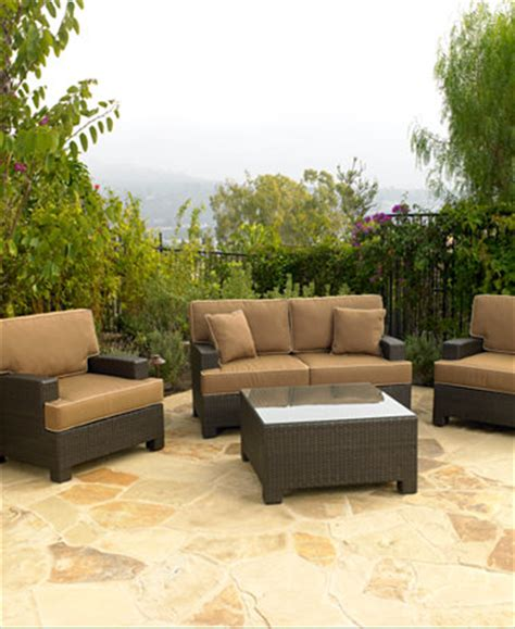 Antigua Outdoor Seating Collection Furniture Macy S Macy Outdoor Furniture