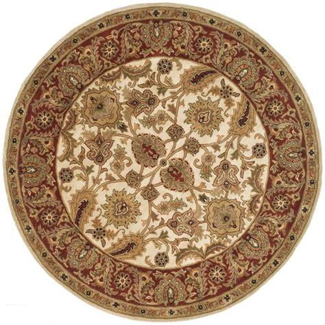 safavieh classic ivory 6 ft x 6 ft area rug