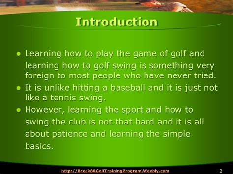 learn golf swing 5 steps to learn how to golf swing